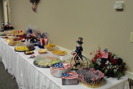 veterans reception